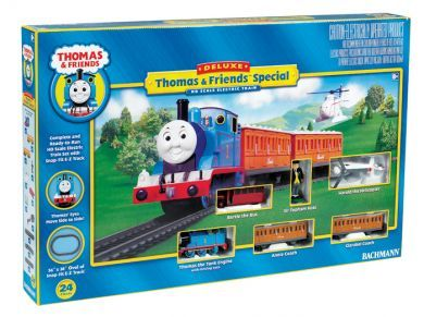 Thomas and Friends Deluxe Set (Thomas, Annie, Clarabel and extras)