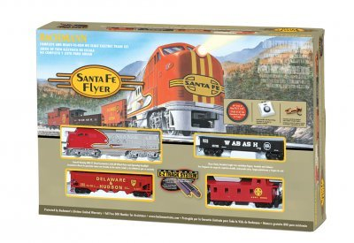 Train Set Santa Fe Flyer