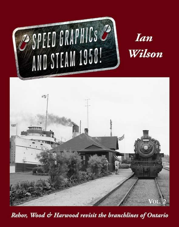 Speed Graphics and Steam 1958 Vol 2 - Hard Cover